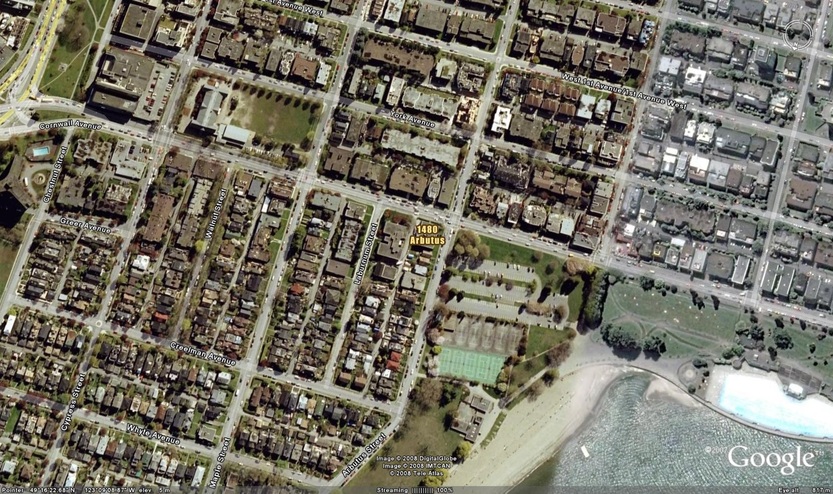 Print View Building Information For Seaview Manor Arbutus - Satellite street view